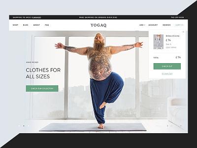 Slider for new Yoga Store website web popup shopify shopify theme yoga studio yoga ui design design homepage slider design slider