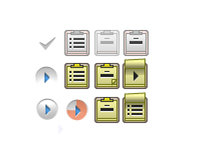 Some icons for video web player