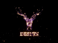 Fantasy Galaxy Deer