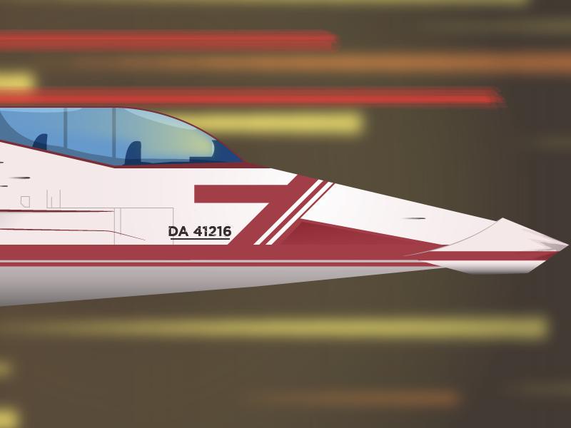 Racer flat five colours minimal space vehicle space racer race space spacecraft futuristic simpel