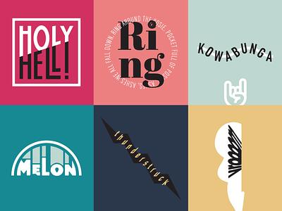 Playing with type! design ammc adobe illustrator typography