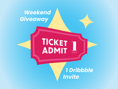 Dribbble Invite Give-away!