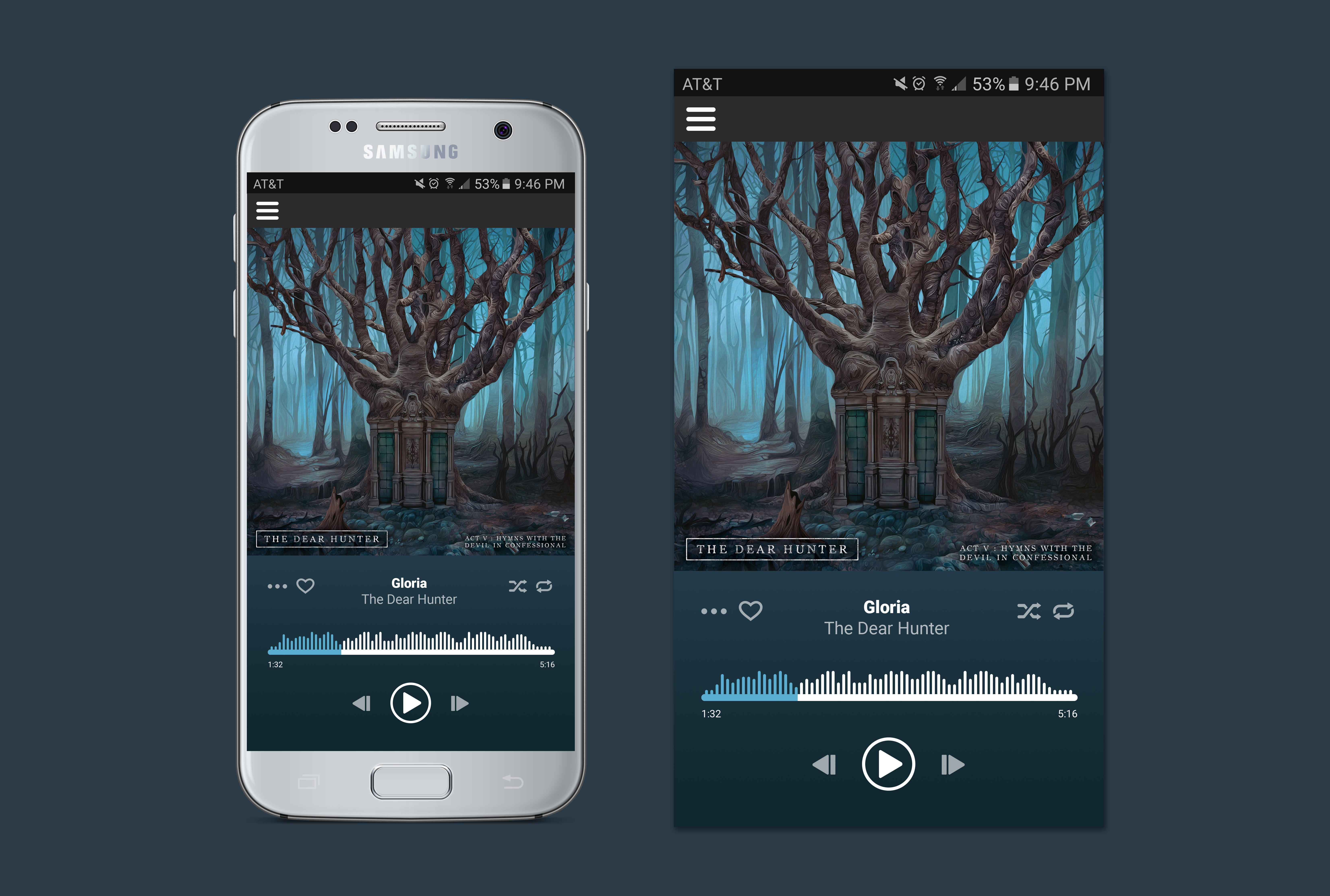 Dribbble - 009-musicplayer jpg by Taylor Gordon