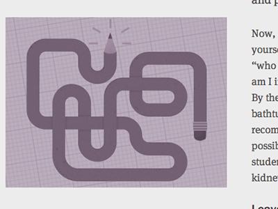 Flexible Pencil cognition illustration monochrome
