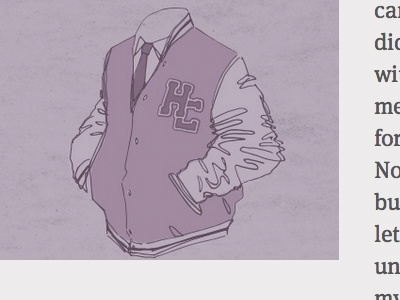 Varsity Purples cognition illustration monochrome