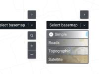 Basemap selector