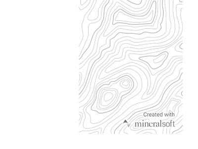 Report cover export pdf print branding topographic texture cover