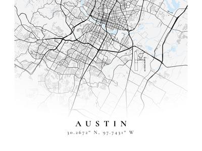 Austin mapbox figma poster maps