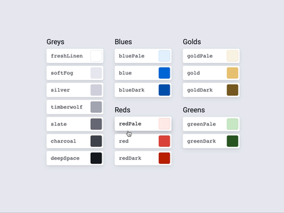 Colors hover tool developer tools storybook figma colors