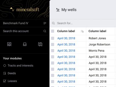 Sidebar revised dynamic switcher account search profile user dark menu navigation sidebar