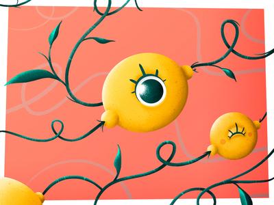 """""""Psychodelic Lemons"""" - Veggie of the Month: February 🌱"""
