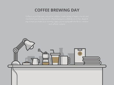 Coffee Brewing Day