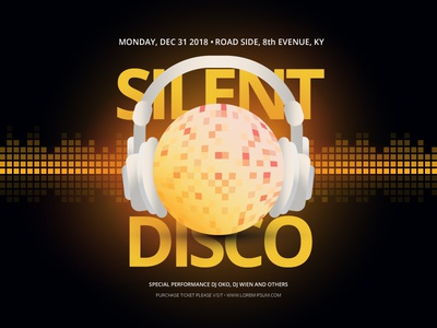 Retrofuturistic Silent Disco Music Festival