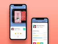 Food Barcode Scanner icons clean ui healthy food ios app app barcode scanner