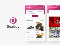 Dealpay User Interface