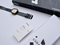 Kalpa Wooden Watch - Brand Identity