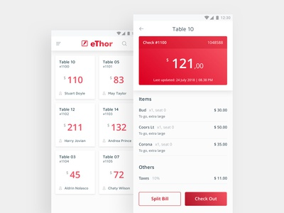 Android Pos Concept