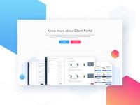 Client Portal Section