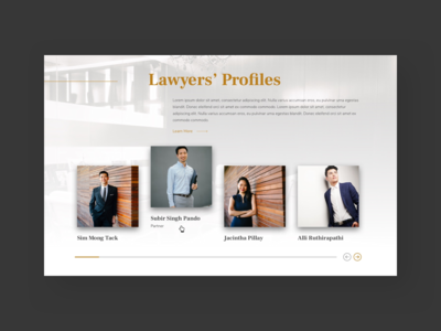 Short Lawyers Page