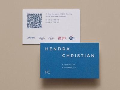 HC Business Card Design