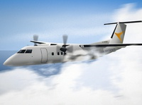 PAL Airlines Dash 8 100 jet aircraft avgeek pilot flying airplane aerospace aviation airline dash 8 de havillad