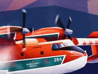 [WIP] Bombardier CL 415 Water Bomber