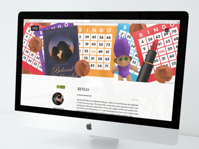 Bingo – The Newfoundland Quarterly pennies listick online book troll illustration editorial bingo