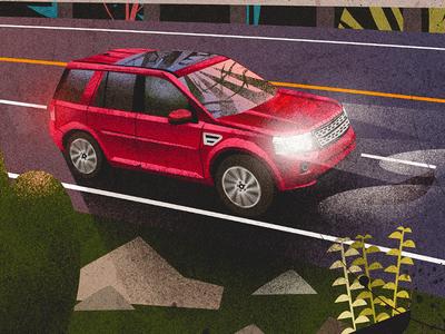 Land Rover LR2 landrover road transportation car drive road trip vehicle suv land rover