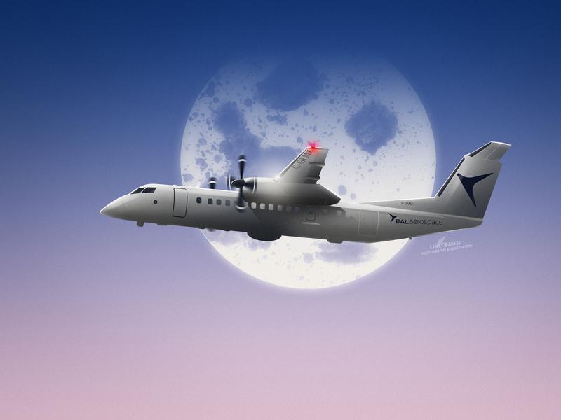 The Force Multiplier travel flying flight airplanes dash8q300 dash8 aircraft aerospace aviation airplane