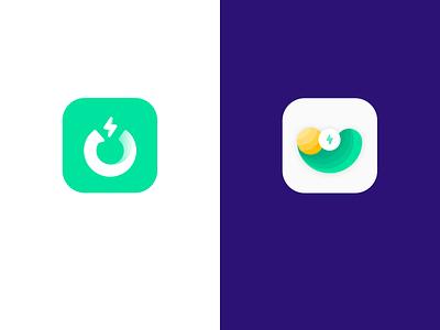 闪UU-logo icon logo bootstrap illustration 设计 ui
