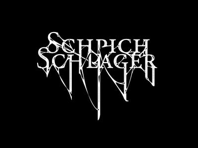 SCHPICHSCHLAGER logo V2 logo logotype typography bw