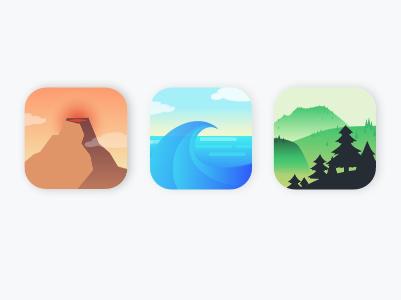Daily UI challenge #05 — App Icon by Julie T Polaski | Dribbble
