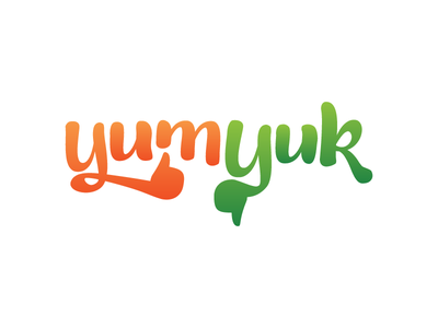 Yumyuk logo illustrator ios