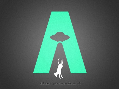 Abducted logo illustration vector alien