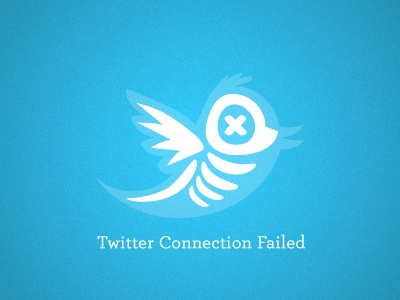 Twitter Fail twitter illustration vector