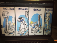 "some cartooning for "" le mondial de l'emploi """