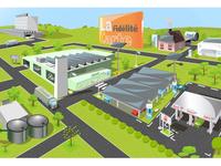 Optimisation energies supermarche