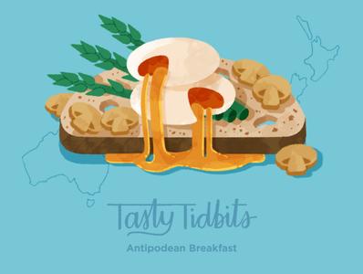 Orientation Exercise: Tasty Tidbits homework schoolofmotion illustration