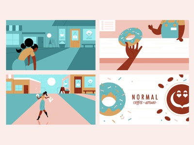 Bag-O-Donuts - Homework - part 2 illustration schoolofmotion illustrationformotion