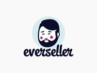 Everseller logo design