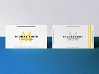 Realistic Business Card Mock-Up #02 (Free Dowload)