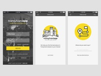 Transylvaniapp app design #001