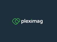 PlexiMag Logo Design