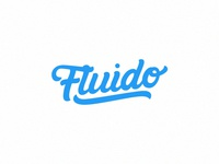 Fluido Lettering Calligraphy Logo