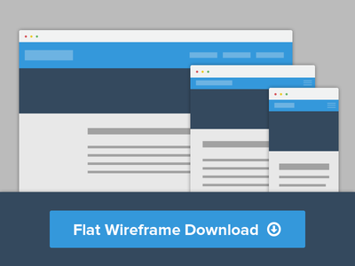 Flat Wirefame PDS download