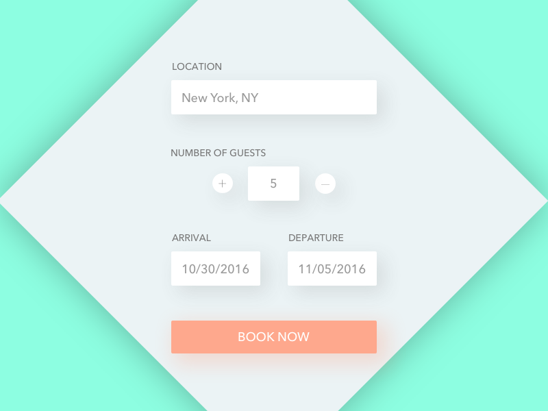 Daily UI 067 | Hotel Booking reservation form booking hotel booking 067 dailyui daily ui