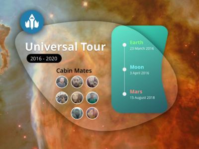 Daily UI 079 | Itinerary