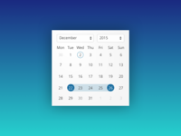 Daily UI 080 | Date Picker