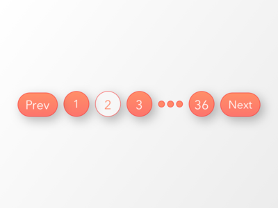 Daily UI 085 | Pagination hover gradients buttons breadcrumbs pagination 085 dailyui daily ui