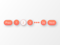 Daily UI 085 | Pagination